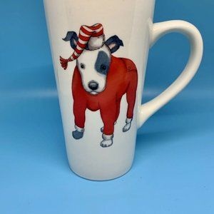 Department 56 Terrier Dog in Pajamas Coffee Mug